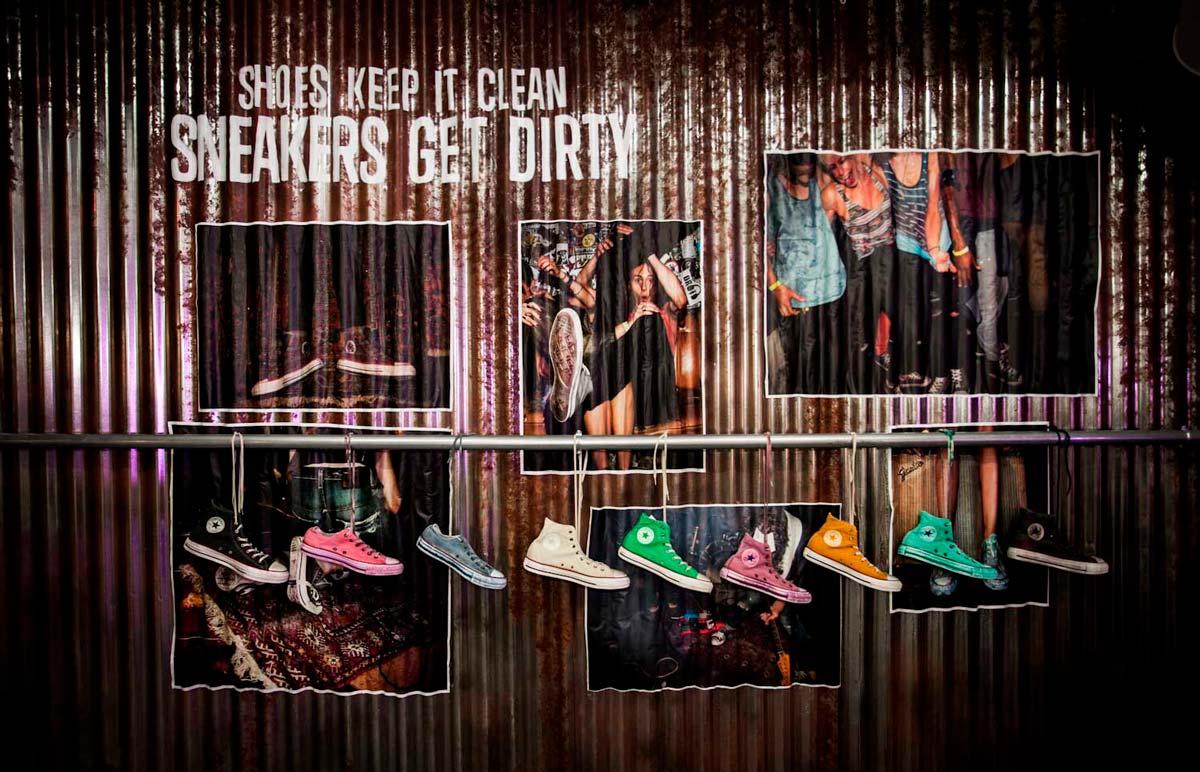 sneakers get dirty
