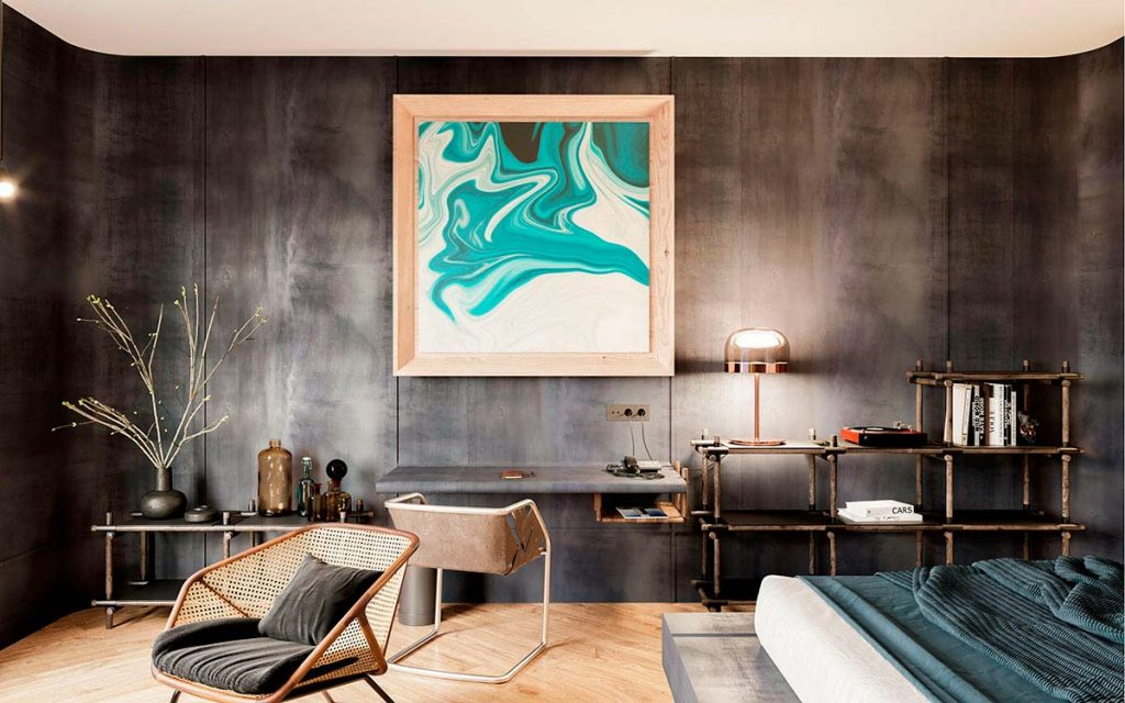 diseño interior habitaciones hotel arts