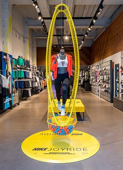 joytice tienda retail, proyecto de interiorismo
