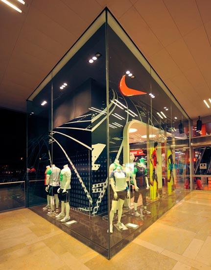 retail tienda nike en illa diagonal