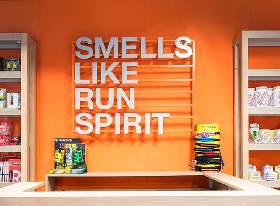 smells like run spirit proyecto de interiorismo