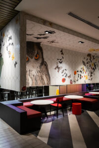 Diseño de interiores - restaurante buho